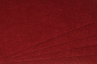 Filz uni 2mm 30x45 bordeaux