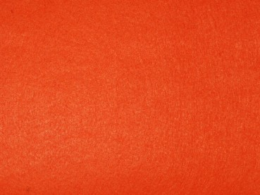Filz uni 3mm 30x45 orange