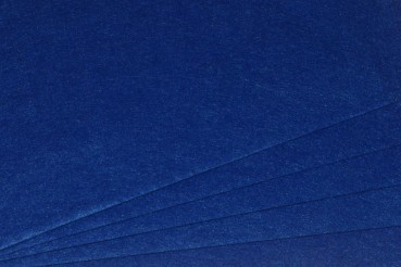 Filz uni 2mm 30x45 royalblau